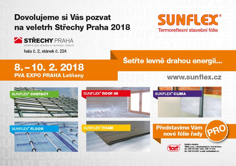 Pozvánka Střechy Praha 2018