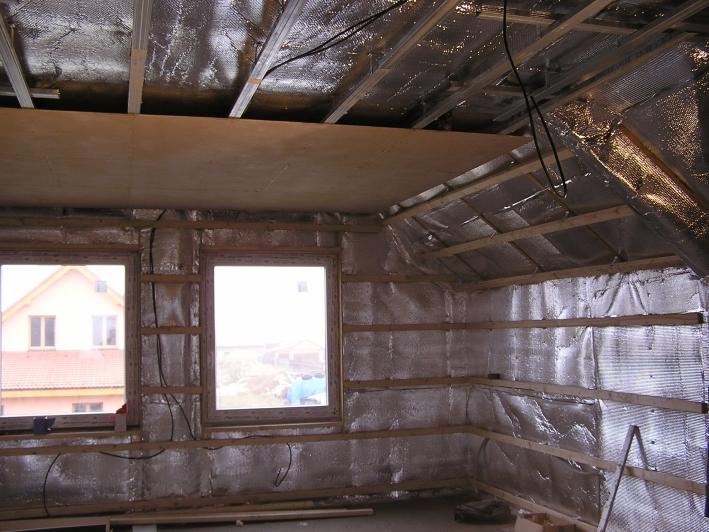 Použítí fólie SUNFLEX Roof-In Plus