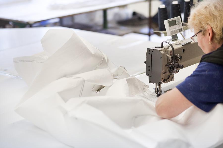 výroba šité vložky