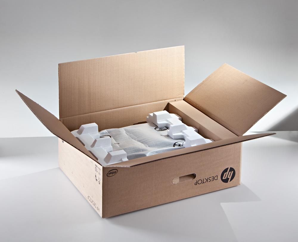 Polystyren v krabici