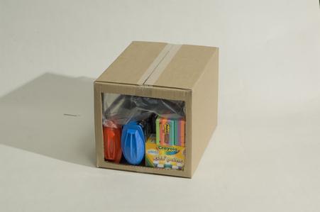 Rapid Fill - průřez krabicí