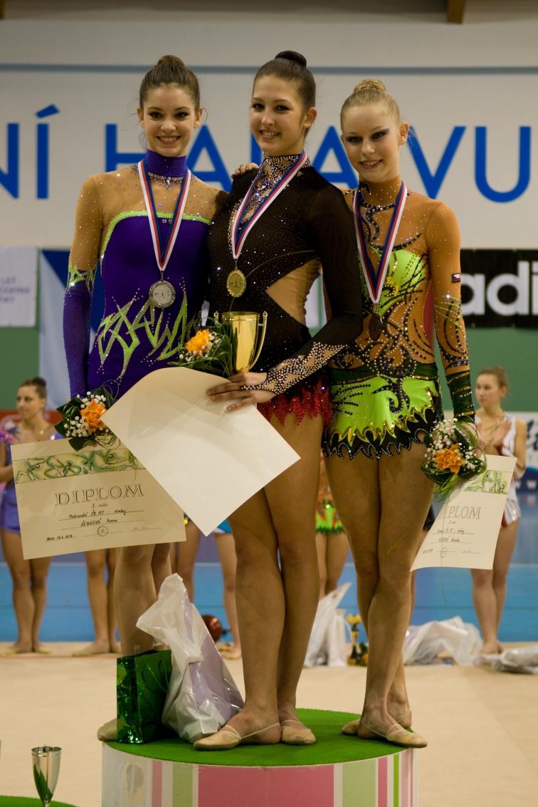 Vítězky Mistrovství ČR v moderní gymnastice