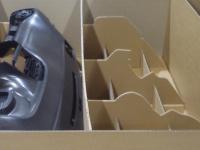 Detail kartonové výplně